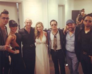 Team Pit backstage