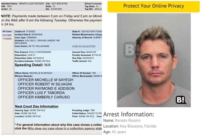 Foto: Miami Dade Clerk / bustedmugshots.com