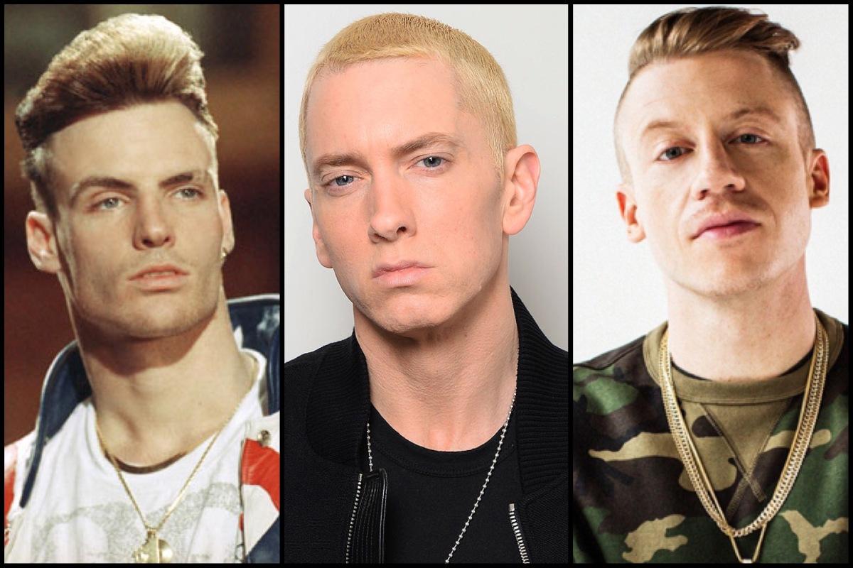 Tres raperos blancos que marcan época