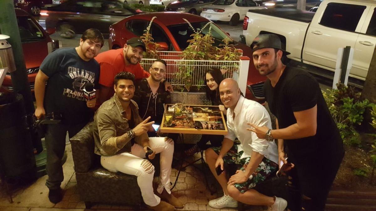 'El Papi' Pastrana, Bruno Agostini y Erick Sabater se divierten en Miami (VIDEO)