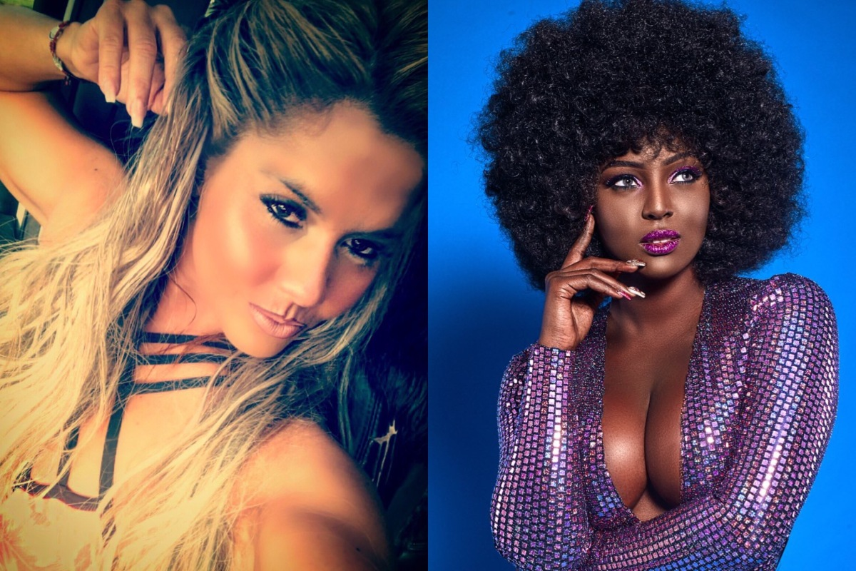 Maripily y Amara La Negra se desnudan, tal como Ricky Martin